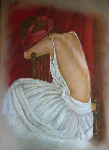 Dama sentada