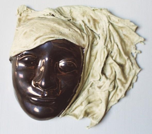 Mascara de ceramica