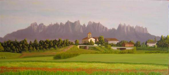 Montserrat, des de Santpedor