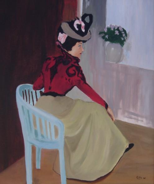La Parisien, copia de Ramón Casas