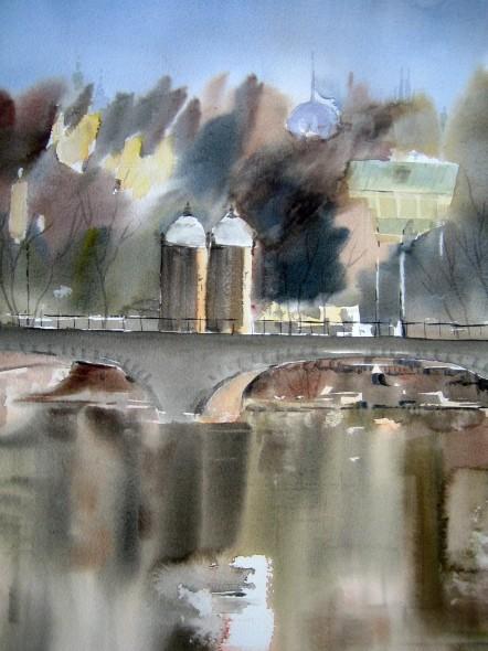 Madrid desde el Puente de Toledo