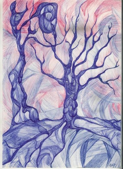 Bocetos Birome