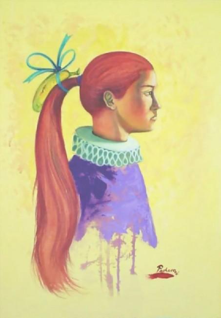 La Dama del Cabello Rojo