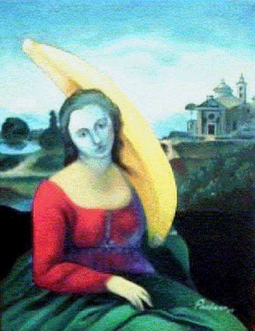 La virgen del plátano en guardia