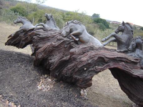 Escultura Equestre