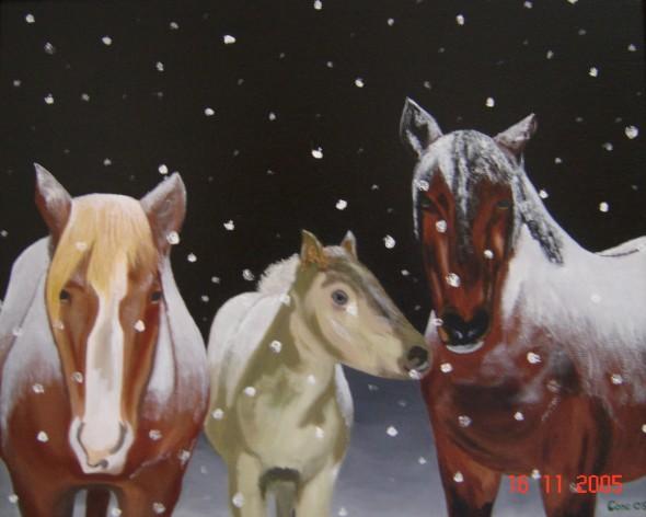 Los caballos de Brigite