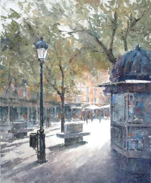 El kiosco de la plaza
