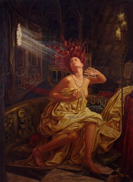 Lucrecia, Delirio y Perlas