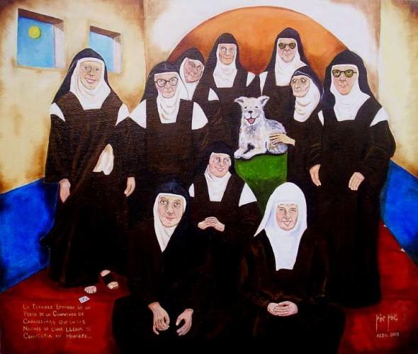 La Terible Leyenda de un Perro de un Convento de Carmelitas que en las Noches de Luna llena se convertia en Hombre
