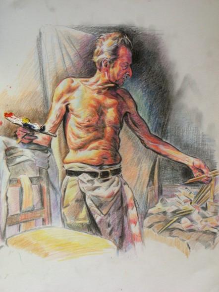 el pintor Lucien