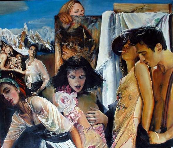 El Artista y sus Modelos