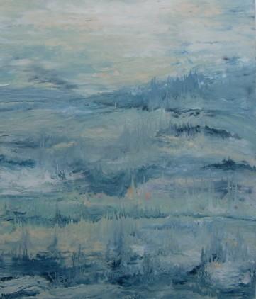 paisaje azul 2
