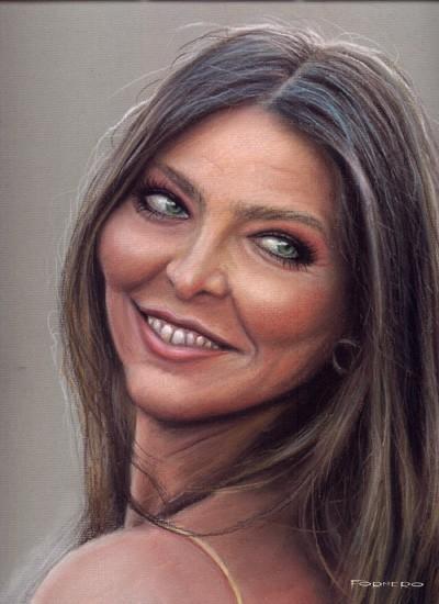 Retrato de Ornella Mutti