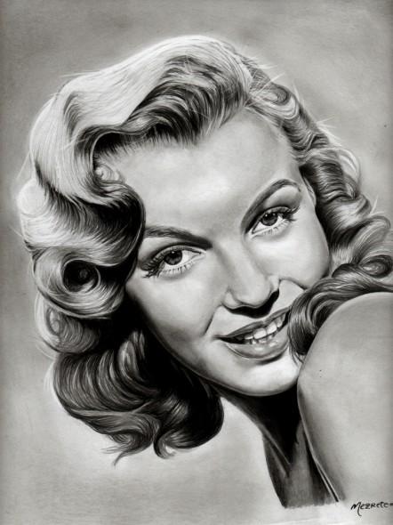 Paulina Negrete Marin. Obra: Marilyn Monroe