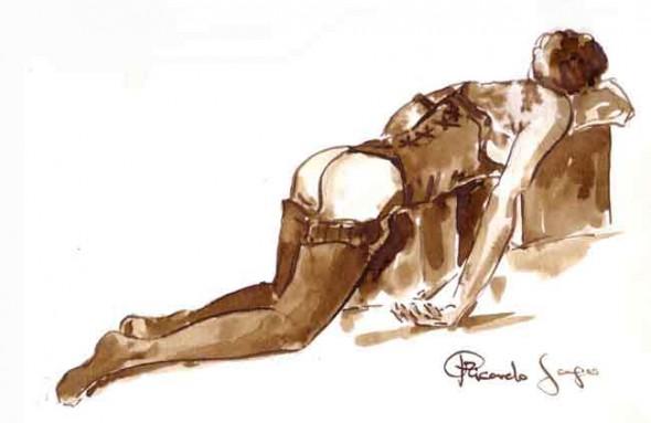 desnudo a 6