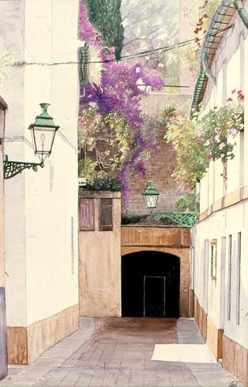# 556 - Postigo del R. Alcázar rn Calle Judería. R. Alcázar. SEVILLA.