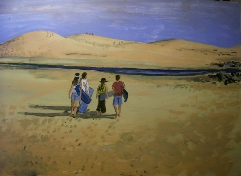 Rumbo a las dunas