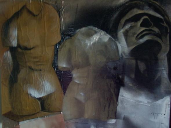 Estudio de luz y anatomia. 2009
