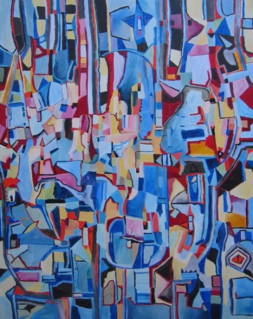 Peque�a Mimi - arte abstracto -