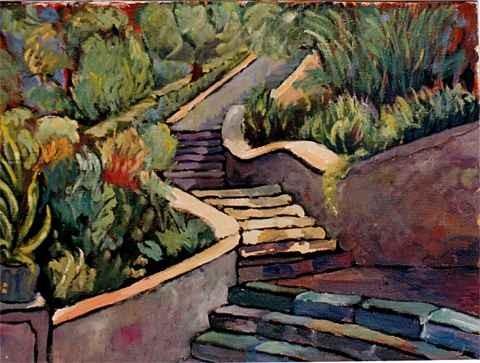 Escaleras del parque Torres 3