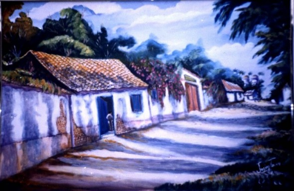 Calle de Humocaroalto Edo Lara Venezuela