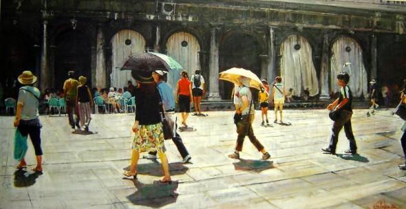 Paraguas y Sombreros