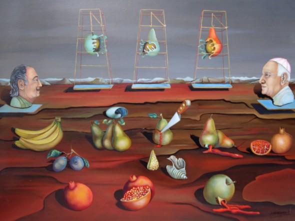 Cricifixion de las frutas