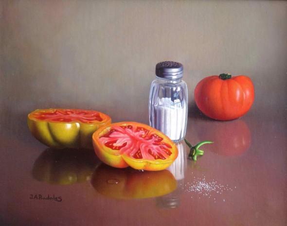 Tomates con salero