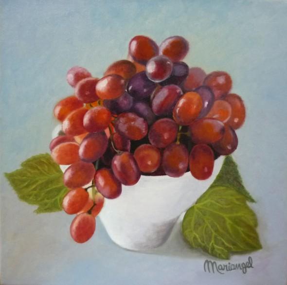 Cuenco con uvas