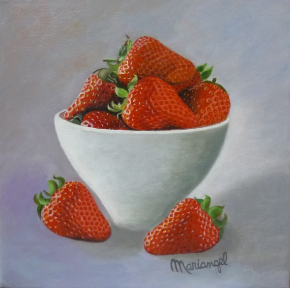 Cuenco con fresas