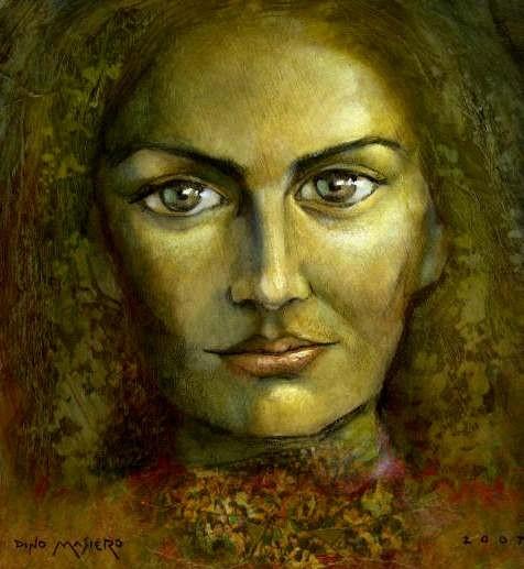 El rostro de Gaya.