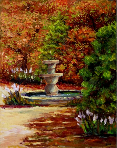 Luis belencoso ponce uisot obra jard n del convento ii for Jardin del convento