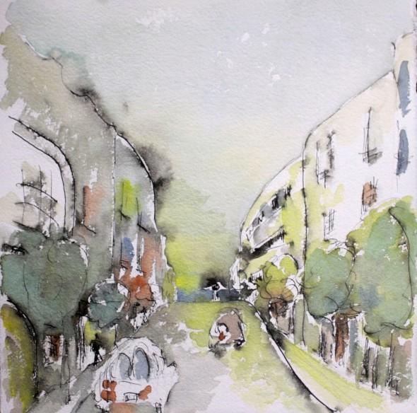 Calle Muntaner, Barcelona