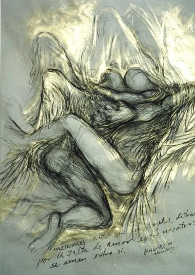 Dos ángeles-fragmento
