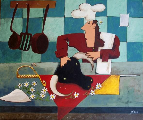 cocinero torero