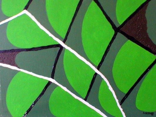 Composición en verde
