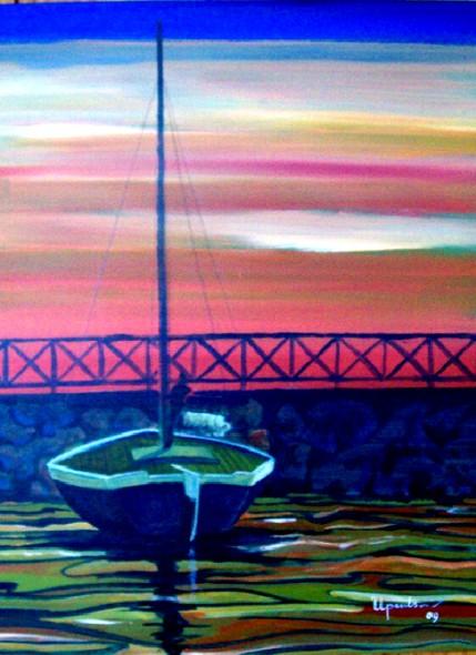 Lancha velera