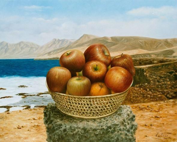 Manzanas en Cofete