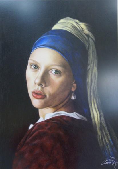 fumar unir Silenciosamente  Obra de arte: La joven de la perla Artistas y arte. Artistas de la tierra