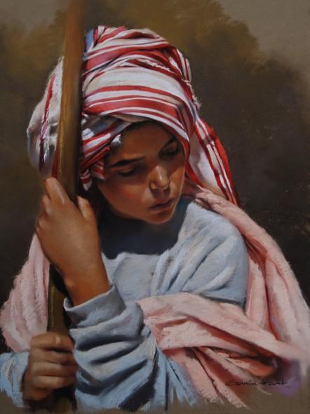 El joven del turbante