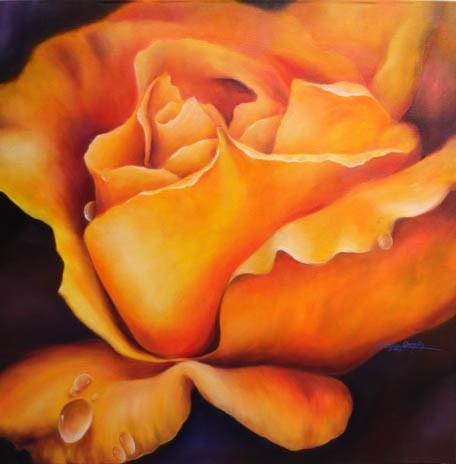 Rosa amarilla III