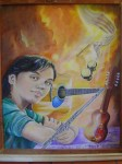 Obras de arte: America : Chile : Valparaiso : Valparaíso : mi niño