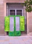 Obras de arte: Europa : España : Navarra : tudela : Puerta: verde que te veo verde...