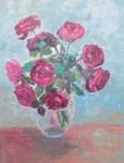 Obras de arte: Europa : España : Catalunya_Barcelona : Mataró : flores rosas