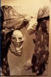 Obras de arte: America : Argentina : Buenos_Aires : ituzaingo : Composición con máscaras II