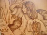 Obras de arte: America : Venezuela : Miranda : Caracas_ciudad : Domingo por la mañana