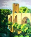 Obras de arte: Europa : España : Castilla_y_León_Burgos : Miranda_de_Ebro : Puente medieval (Frias)