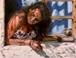Obras de arte: America : México : Baja_California_Sur : lapaz : La ventana de la playa