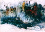 Obras de arte: America : Perú : Lima : Surco : nieve rio