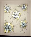 Obras de arte: America : Argentina : Entre_Rios : Paraná : Crisantemo azul